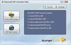 AimerSoft 3GP Converter Suite Screenshot