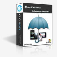 Cucusoft iPhone iTouch iPod Computer Transfer Software