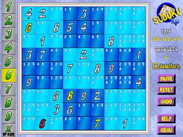 Sudoku Game Software